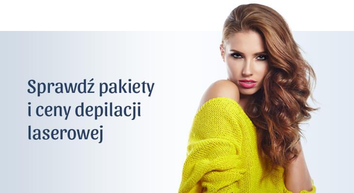 Cennik - depilacja laserem Vectus w Gdańsku